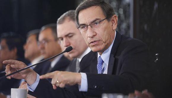 El presidente Martín Vizcarra recordó el planteamiento de adelanto de elecciones que hizo el 28 de julio. (Foto: Presidencia)