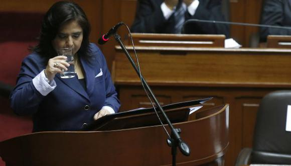 Jara aún no recibe el voto de confianza del Congreso. (USI)