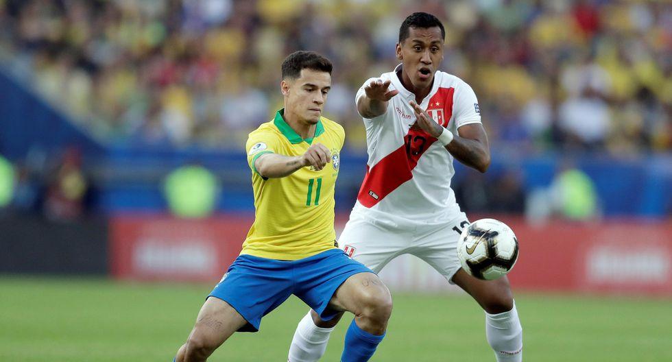Perú vs. Brasil por la final de la Copa América 2019 en el Maracaná. (Foto: AFP)