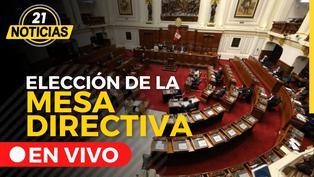 Congreso Elección de la Mesa Directiva 2021-2022