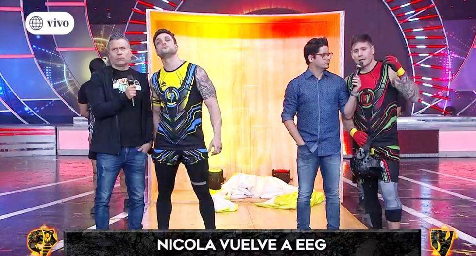 """Nicola Porcella es criticado en Twitter por regreso a """"Esto es Guerra"""". (Imagen: Captura América TV)"""