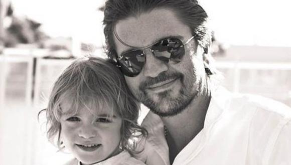 Juanes: Su hijo mostró su talento para el canto en Instagram (@juanes)