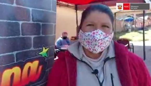 Linda contó que no pudo inmunizarse antes contra el Covid-19 porque contrajo una gripe.