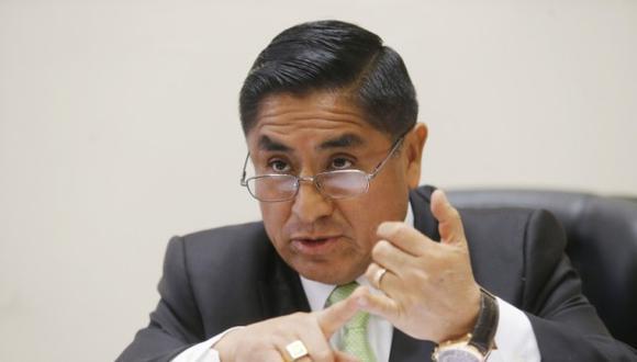 César Hinostroza sostuvo conversaciones con Víctor Ticona, presidente del JNE, para favorecer a trabajadores. (Foto: GEC)