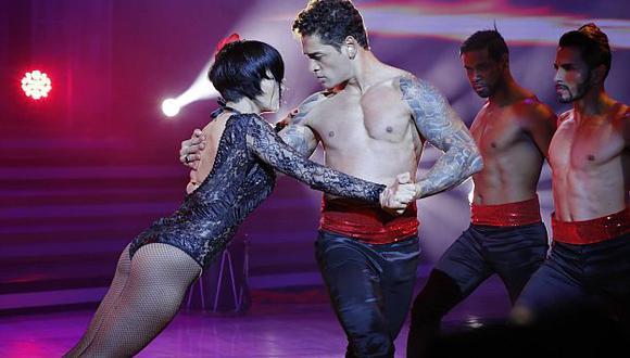 Thiago Cunha y Thati Lira quedaron en segundo lugar en 'Reyes del show'. (América)