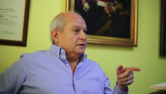 Pedro Cateriano, presidente del Consejo de Ministros. (Foto: GEC)
