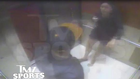 Ray Rice noqueó a su esposa Janay Palmer. (TMZ Sports)