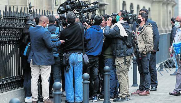 """[Opinión] Aldo Mariátegui: Pocos periodistas, muchos """"populistas mediáticos""""  (Foto: Jorge Cerdán / GEC)"""