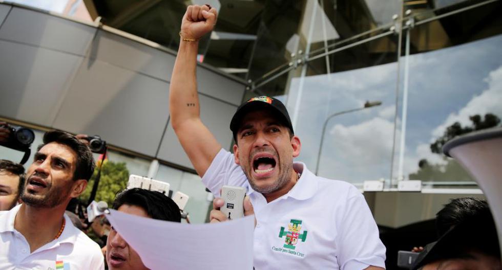 """En una carta pública, Camacho anuncia su """"decisión de candidatear a la presidencia de Bolivia en las próximas elecciones nacionales"""". (Foto: Reuters)"""