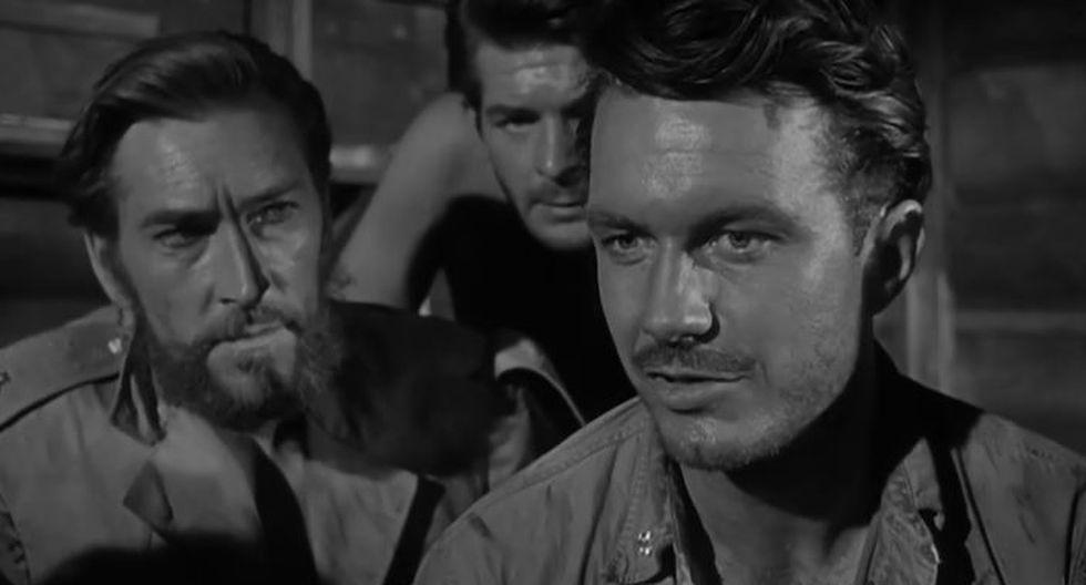 5. Batalla del mar de Coral (1959; director: Paul Wendkos) (Captura de pantalla)