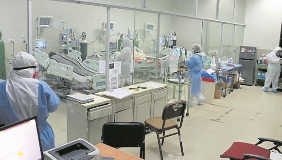 Las unidades de cuidados intensivos de los hospitales de Piura ya están copados, indicó el Colegio Médico del Perú. (GEC)