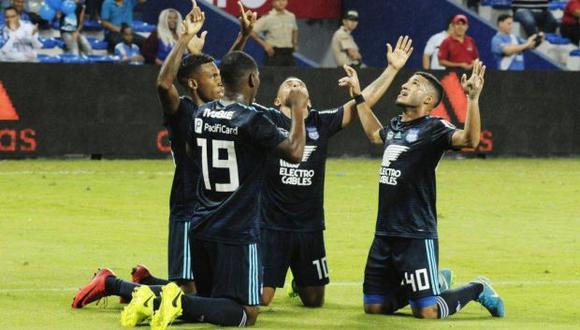 Cruzeiro lidera la clasificación del grupo B de la Copa Libertadores con seis puntos, seguido por Emelec (2), Huracán (1) y Deportivo Lara (1). (Foto: Facebook Emelec)
