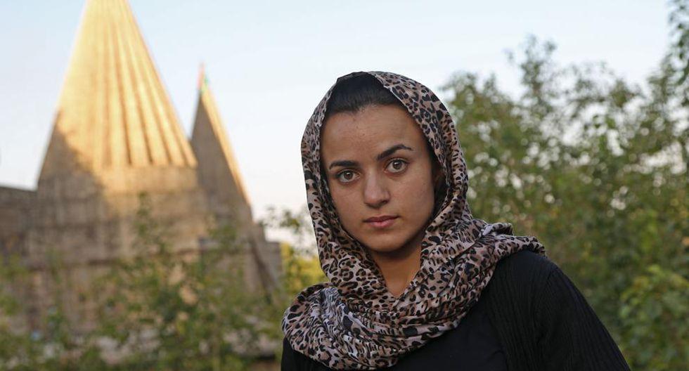 Ashwaq Haji fue secuestrada por el Estado Islámico. (AFP)