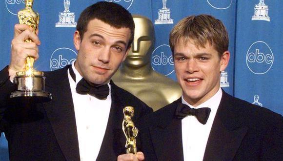 Ben Affleck y Matt Damon. (Internet)
