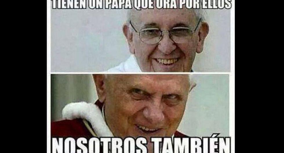 Los usuarios empezaron a bromear con el hecho de que el Papa es argentino.
