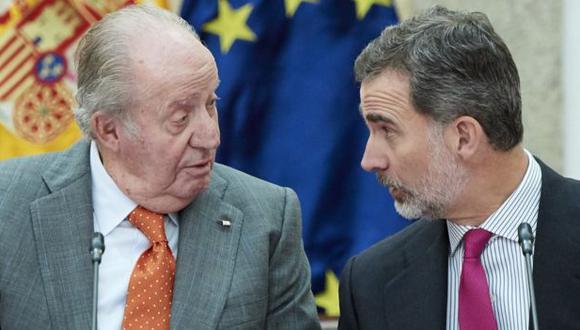 Juan Carlos I abdicó en 2014 tras una serie de escándalos en torno a él y su familia. (Getty Images).