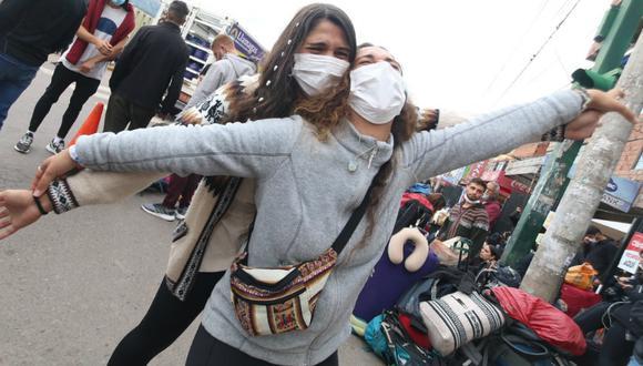 Cusco: Israelíes varados en Cusco por estado de emergencia regresarán a su país (Foto: Juan Sequeiros)