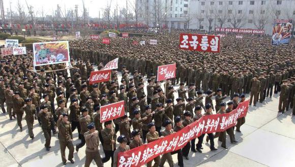 Según especialistas, Corea del Norte necesitaría de tres a cuatro años para fabricar dos bombas atómicas. (Reuters)