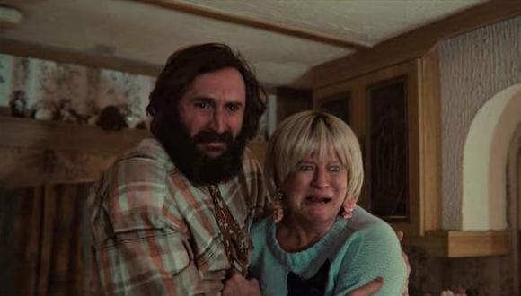 La pareja implicada en la escena en cuestión. (Foto: Netflix)