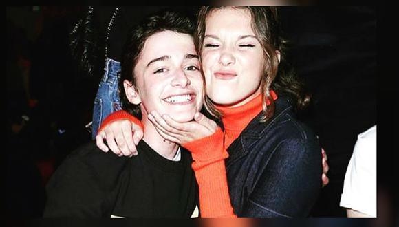 Millie Bobby Brown y Noah Schnapp muestran ser los mejores amigos en Instagram (Foto: Instagram)