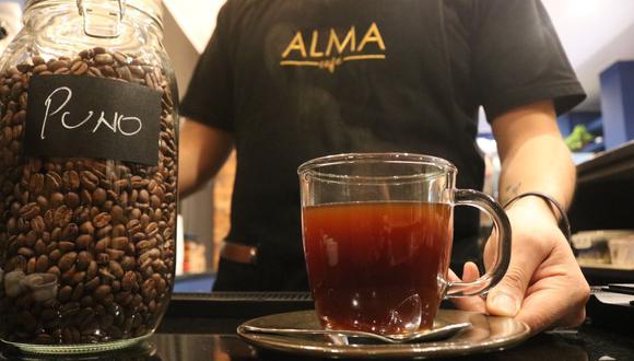 Cafetería de especialidad ofrece café de tres orígenes. (Foto: Aura Guío)