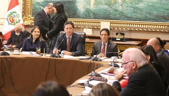 Solo Vilcatoma justificó su ausencia, los demás no asistieron al Consejo Directivo. (Foto: Agencia Andina)