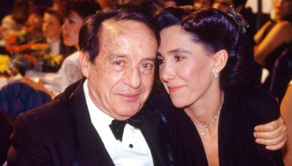 Roberto Gómez Bolaños y Florinda Meza se casaron en el 2004. (Foto: Univision)