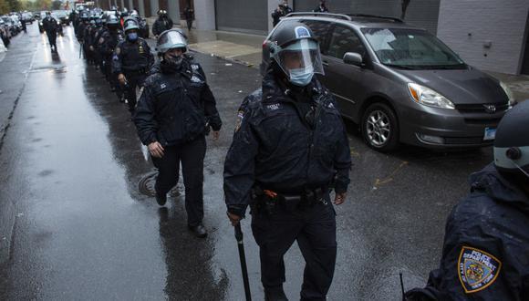 La familia de Simran Gordon no cree en las nuevas versiones de la policía sobre la muerte del joven de 24 años. (Foto: Kena Betancur / AFP)