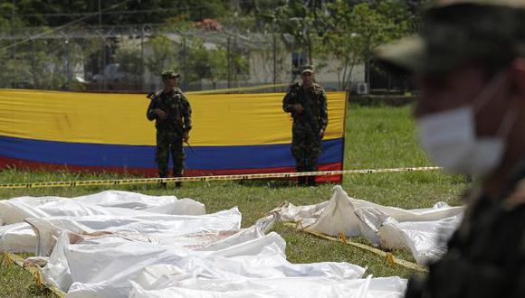 Se atribuye el ataque al frente 59 de las FARC. (Reuters)