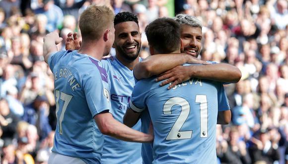 Manchester City va por su quinto partido invicto en la Premier League. (Foto: AFP)