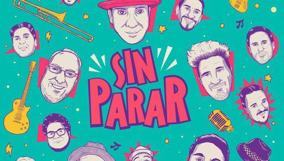 """El proyecto fue liderado por Jorge """"Vhako"""" Venegas y Pancho Caamaño, vocalista y fundador de la banda trujillana Mr. Pucho. (Foto: Difusión)"""