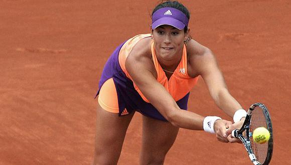 Roland Garros: Muguruza gana y jugará en cuartos ante Sharapova. (AFP)