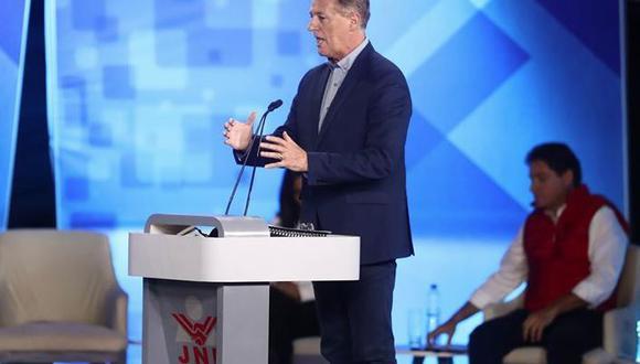 Candidato Jorge Muñoz. (Foto: César Campos/Perú21)