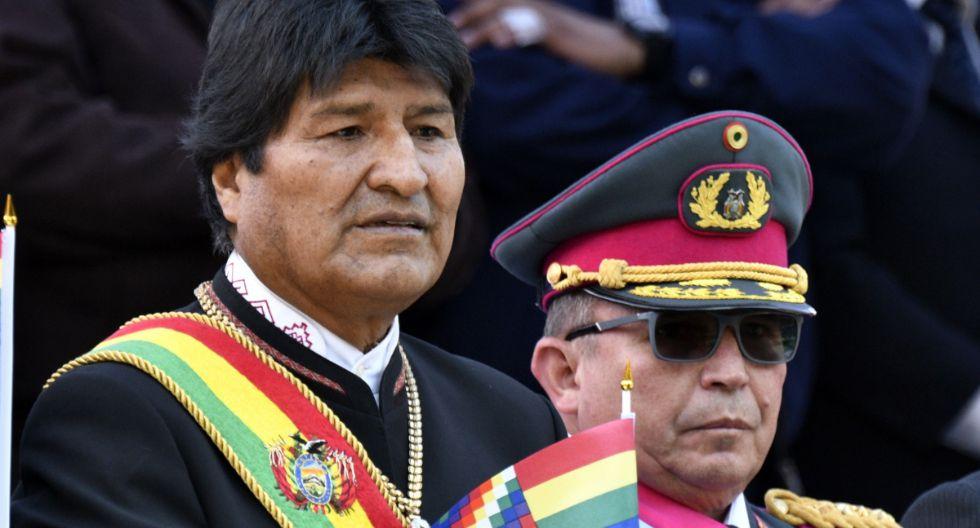 Evo Morales. (Foto: AFP)