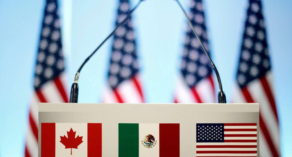 El TLCAN incluye a México, EE.UU. y Canadá. (Foto: Reuters)