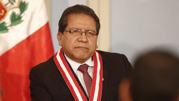 Fiscal de la Nación fue acusado constitucionalmente por vocero fujimorista Daniel Salaverry. (Renzo Salazar)