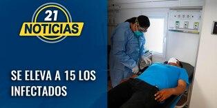 Coronavirus: se eleva a 15 los casos en nuestro país