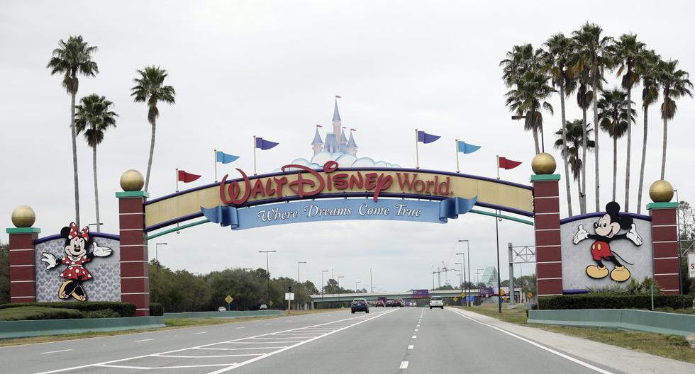 Imagen referencial de la entrada de Walt Disney World, en Lake Buena Vista, Florida. (AP Photo/John Raoux, File).
