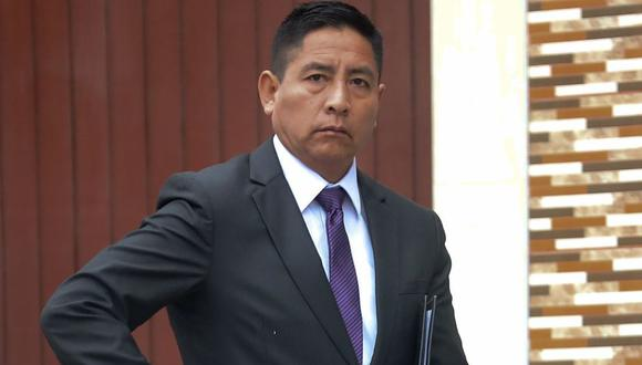 Tobías Donato Huaringa Rosales fue identificado por varios testigos como el brazo derecho del 'Capitán Carlos'. (Geraldo Caso/Perú21)