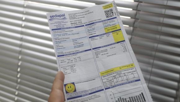 Las fórmulas tarifarias se calculan para un periodo de 5 años para cada empresa de agua que regula la Sunass. (Foto: GEC)
