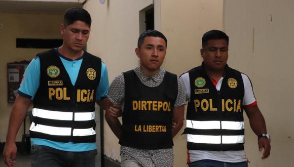 Sergio Eduardo Cabello Zavaleta (19), alias 'Edu', fue detenido en El Porvenir. (PNP)