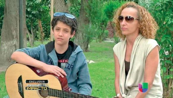 Hijo de Guillermo Dávila ya no quiere su apellido. (Imagen de TV)