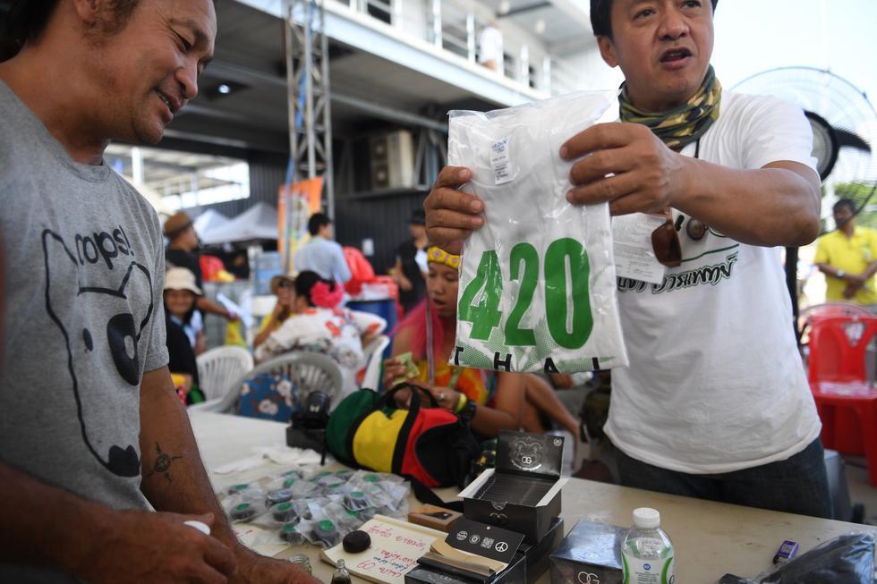 Tailandia celebra gran fiesta de la marihuana (AFP)