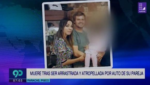 La pareja había viajado a Paracas para celebrar el cumpleaños de ella. (Latina)