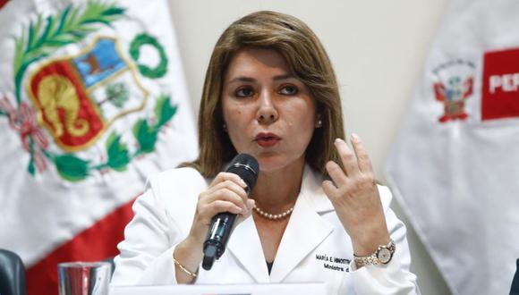 Ministra de Salud detalló la cantidad de pacientes hospitalizados y el estado en que se encuentran. (Foto: GEC)