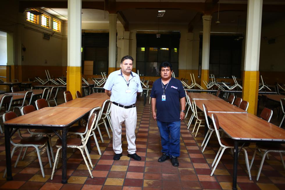 Comedor popular de La Victoria sin funcionar. (Foto: Hugo Curotto / GEC)