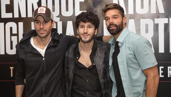Ricky Martin, Enrique Iglesias y Sebastián Yatra confirmaron las fechas de su gira por Estados Unidos. (Foto: @enriqueiglesias)