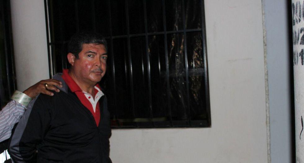 En las próximas 48 horas se programará la audiencia para definir si el gobernador de Tacna, Omar Jiménez, irá a prisión. (Miguel Idme)