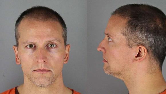 Derek Chauvin enfrenta cargos de asesinato por el caso George Floyd (Foto: AFP)