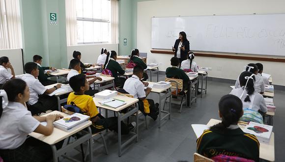 Doce mil estudiantes de primaria de 300 instituciones educativas de todo el país serán evaluados el próximo año 2019. (Foto: El Comercio)